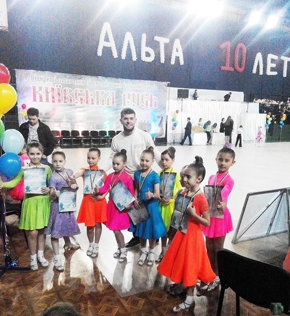 Итоги танцевального турнира Киевская Русь-2014 (30.03.2014)